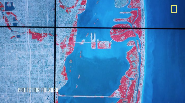 Map Of Florida After Sea Level Rise