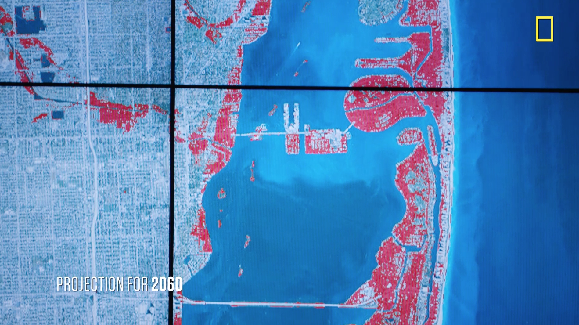 Sea Level Rise And Coastal Cities   National Geographic Society - Map Of Florida After Sea Level Rise
