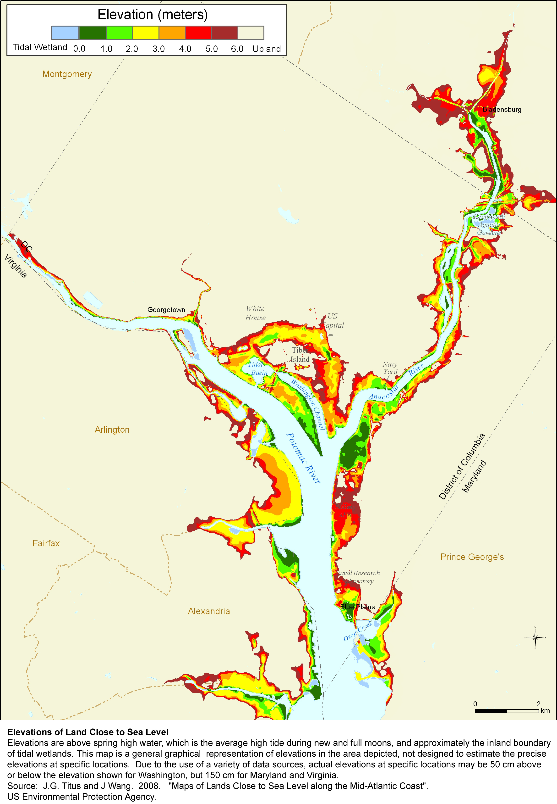 Sea Level Rise Planning Maps: Likelihood Of Shore Protection In - Florida Elevation Map Above Sea Level