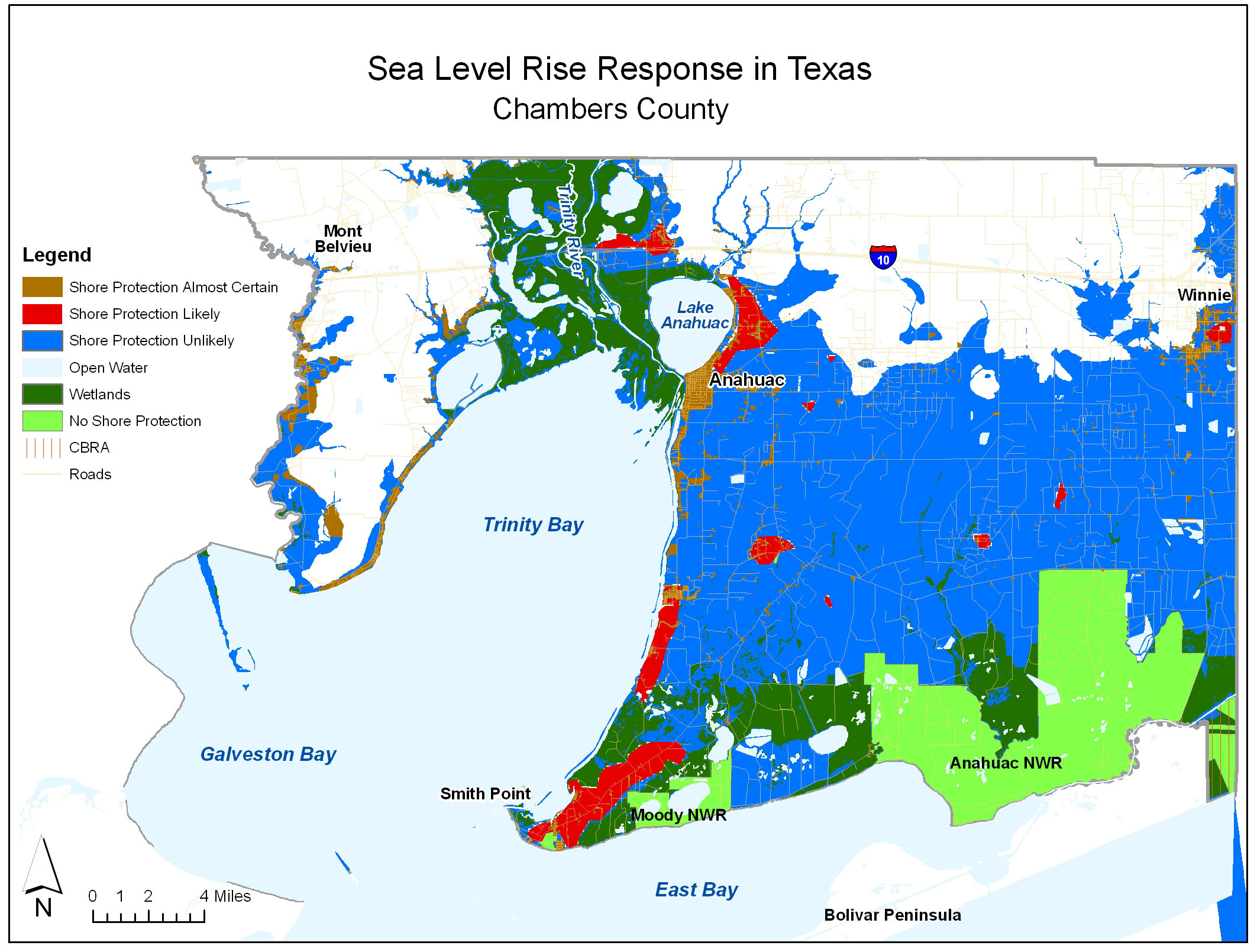 Sea Level Rise Planning Maps: Likelihood Of Shore Protection In Florida - Florida Water Rising Map