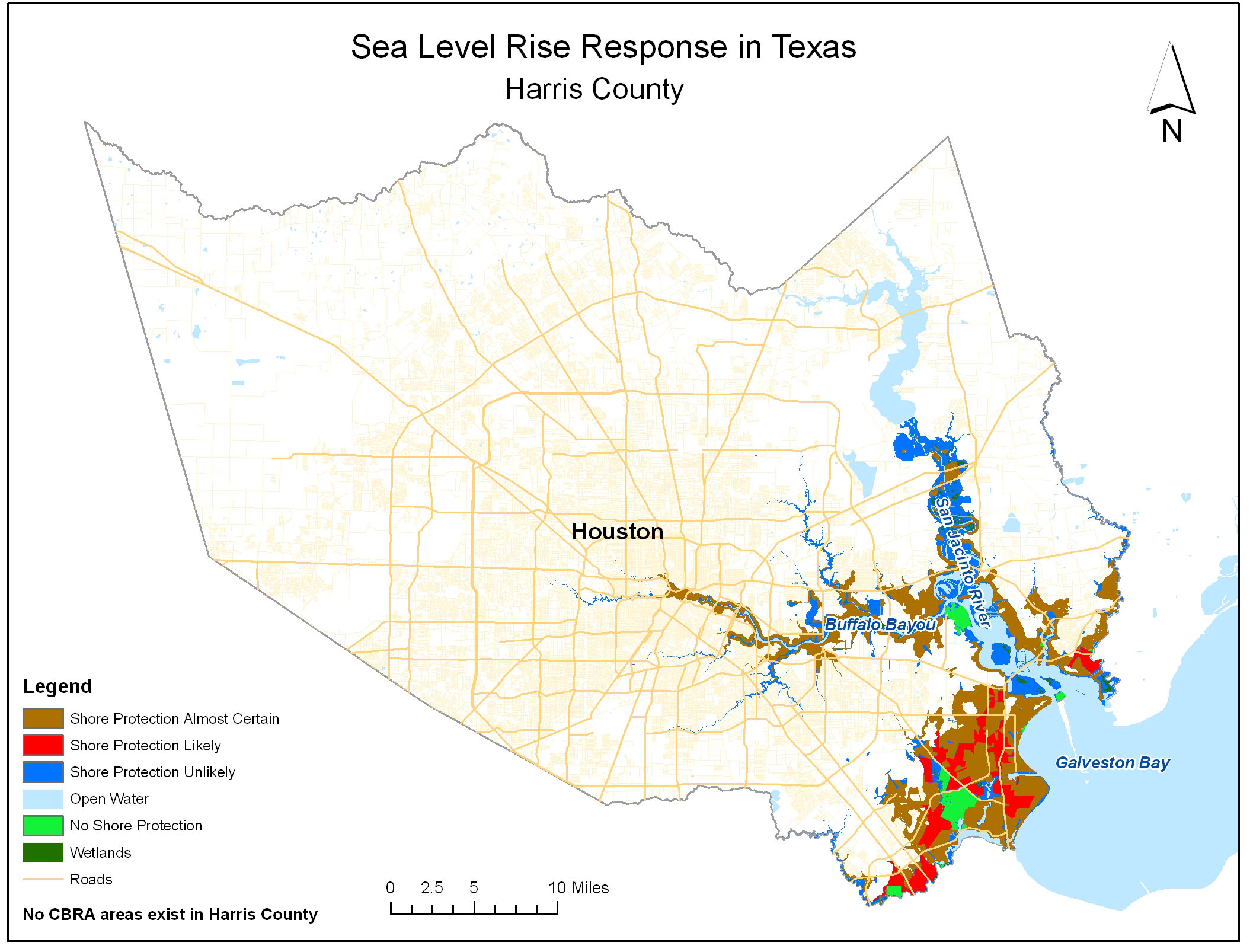 Sea Level Rise Planning Maps: Likelihood Of Shore Protection In Florida - Jefferson County Texas Elevation Map