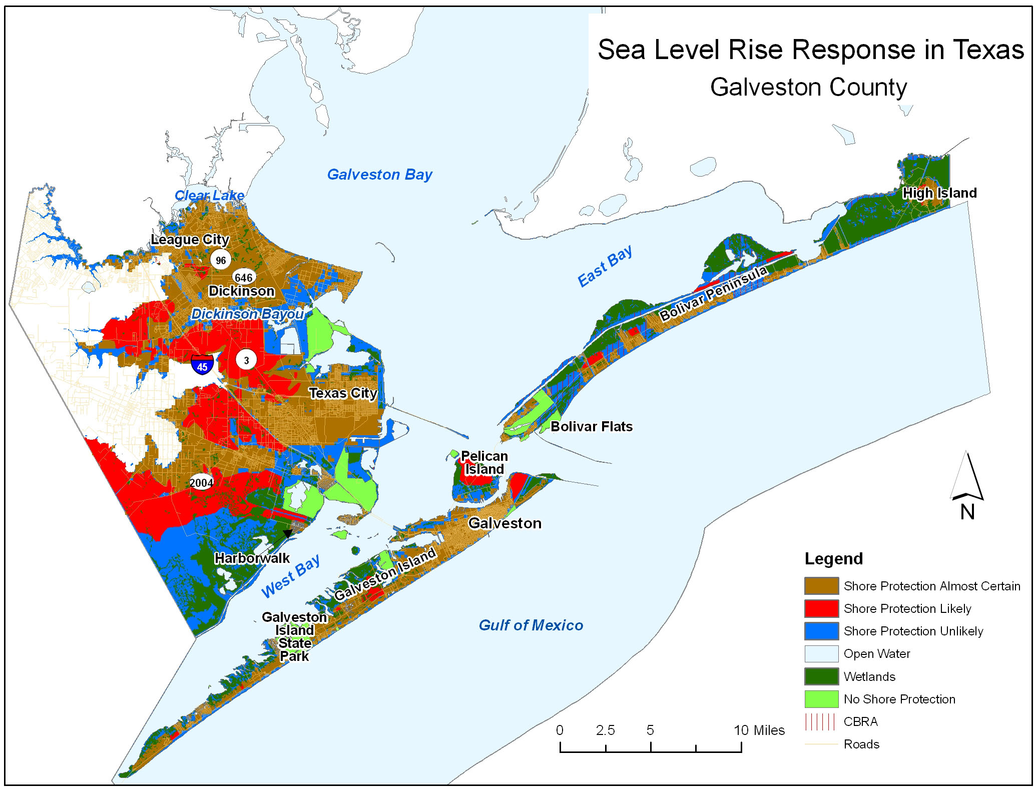 Sea Level Rise Planning Maps: Likelihood Of Shore Protection In Florida - Orange County Texas Flood Zone Map