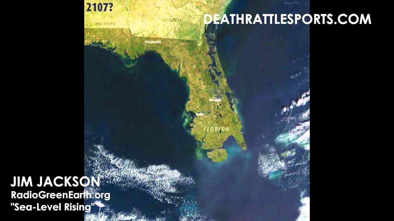 Sea-Level Waters Rising In Florida Because Of Climate Change? - Youtube - Florida Water Rising Map