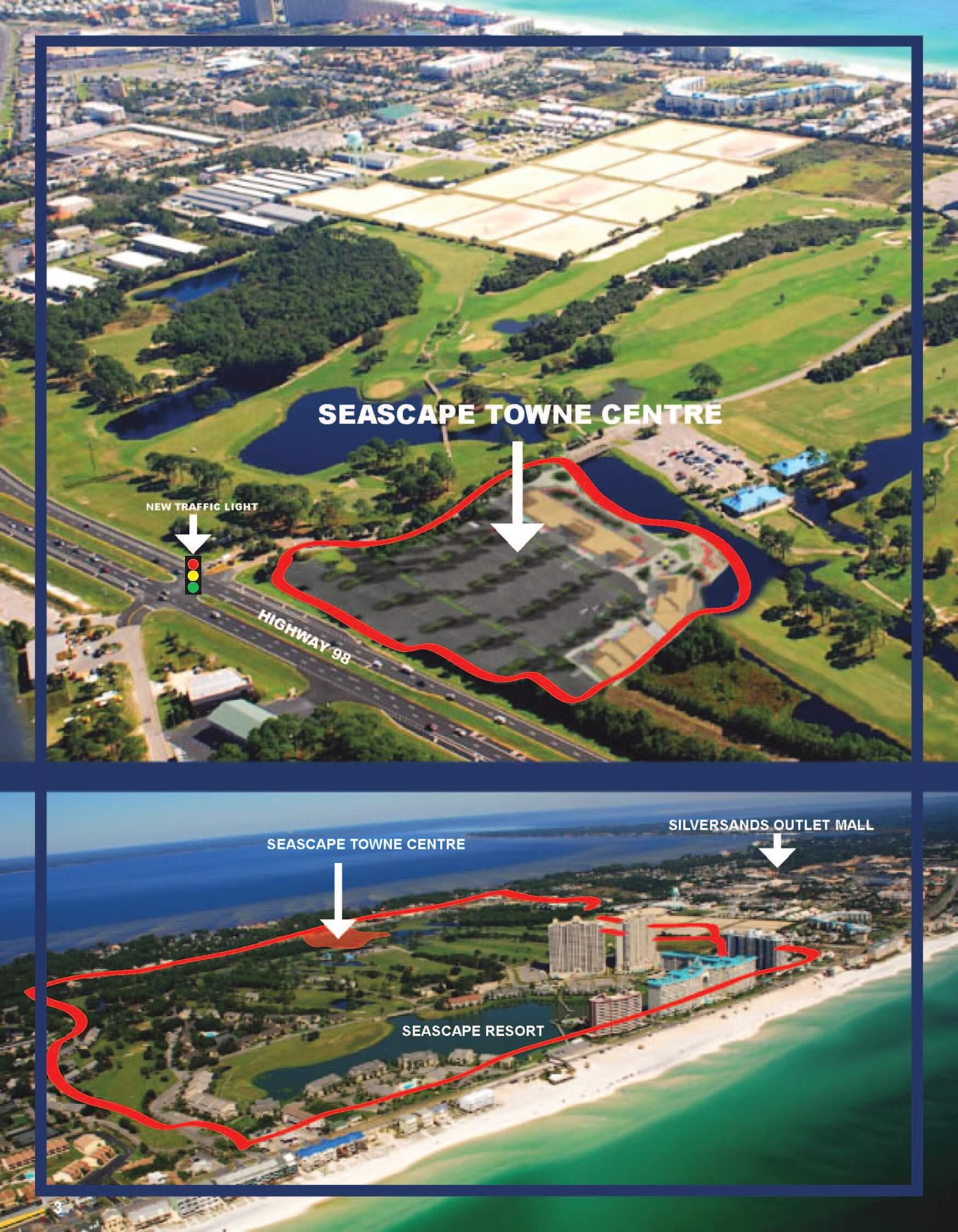 Seascape Resort – Townhomes And Condos – Golf Course - Seascape Resort Destin Florida Map