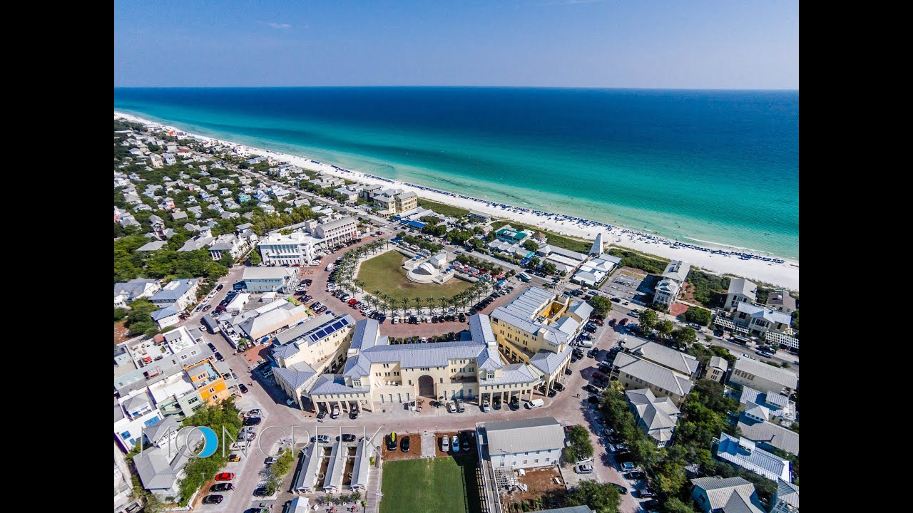 Seaside Florida 3Br Gulf Front Home For Sale - The Rossi House - Youtube - Seaside Florida Google Maps