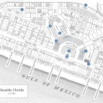 Seaside Florida Map   Click Properties On Map To View Details | Maps   Seaside Beach Florida Map