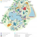 Seaworld® Orlando General Map | Disney And Universal Studios Trip   Seaworld Orlando Map 2017 Printable