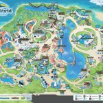 Seaworld Orlando Map   Map Of Seaworld (Florida   Usa)   Seaworld Orlando Map 2017 Printable