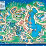 Seaworld Orlando Theme Park Map   Orlando Fl • Mappery | Aquariums   Seaworld Orlando Map 2017 Printable