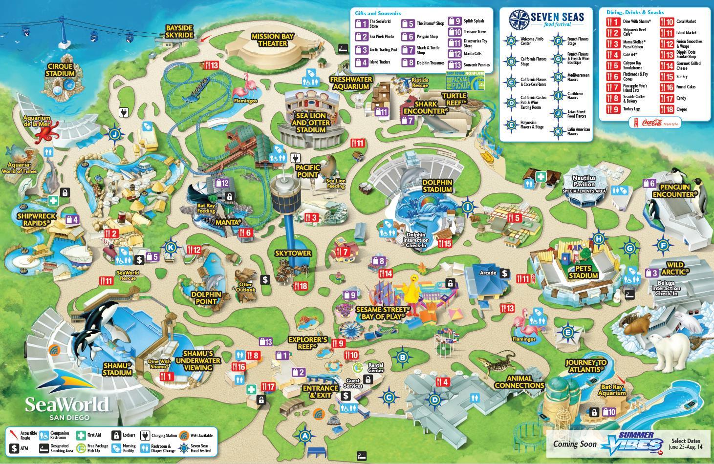 Seaworld San Diego Park Map Worlds Maps Archives New Seaworld - Printable Map Of Sea World Orlando