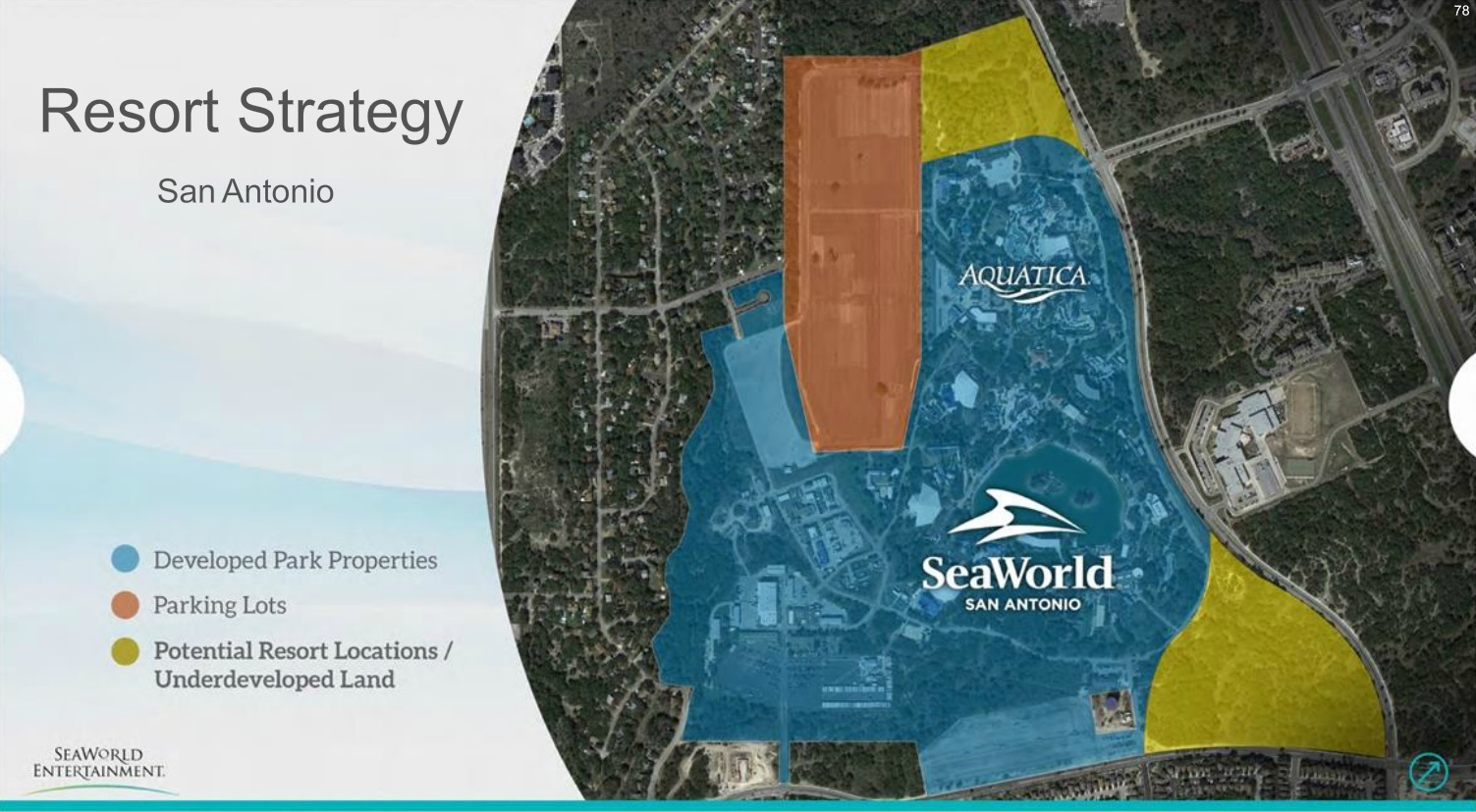 Seaworld Starting Effort To Develop Resorts Around Its Parks - San - Printable Map Of Seaworld San Antonio