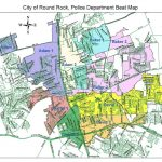 Sector Map   City Of Round Rock   Round Rock Texas Map