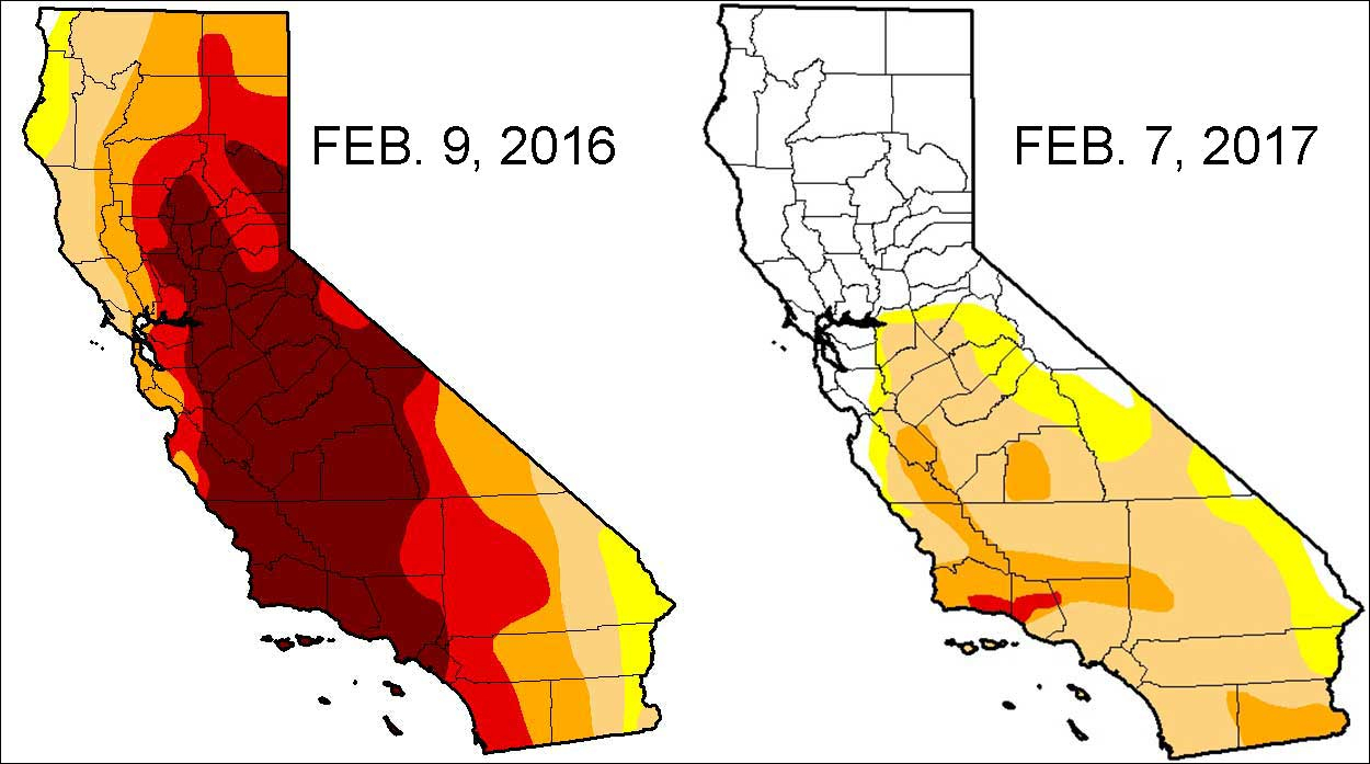Severe Drought Down To 11 Percent In California - Nbc Bay Area - California Drought Map 2017
