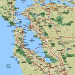Sfbay Std Road Maps Map Of South Bay Area California   Klipy   Map Of Bay Area California Cities