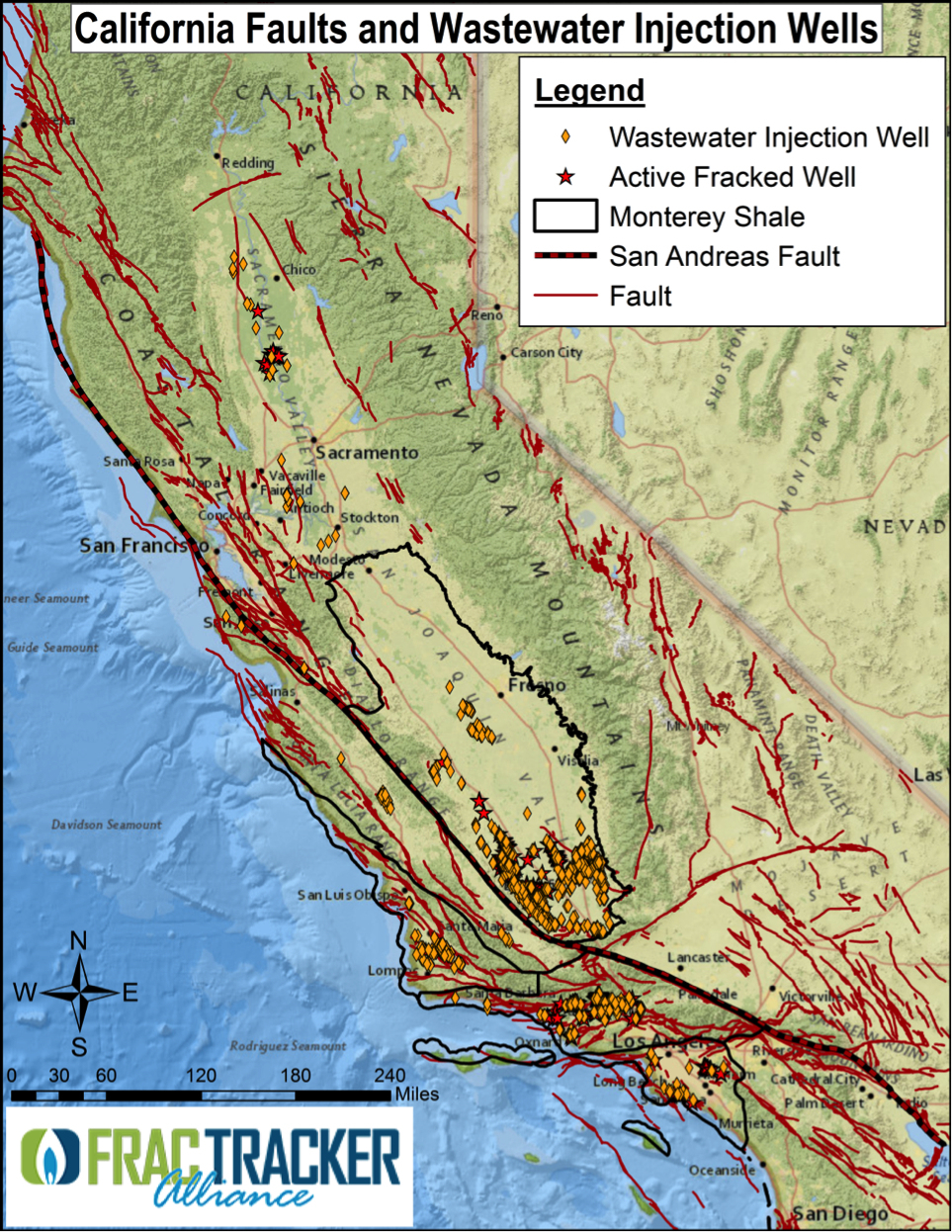 Shaky Ground At California Fault Line Map Map Of California Springs - California Fault Lines Map