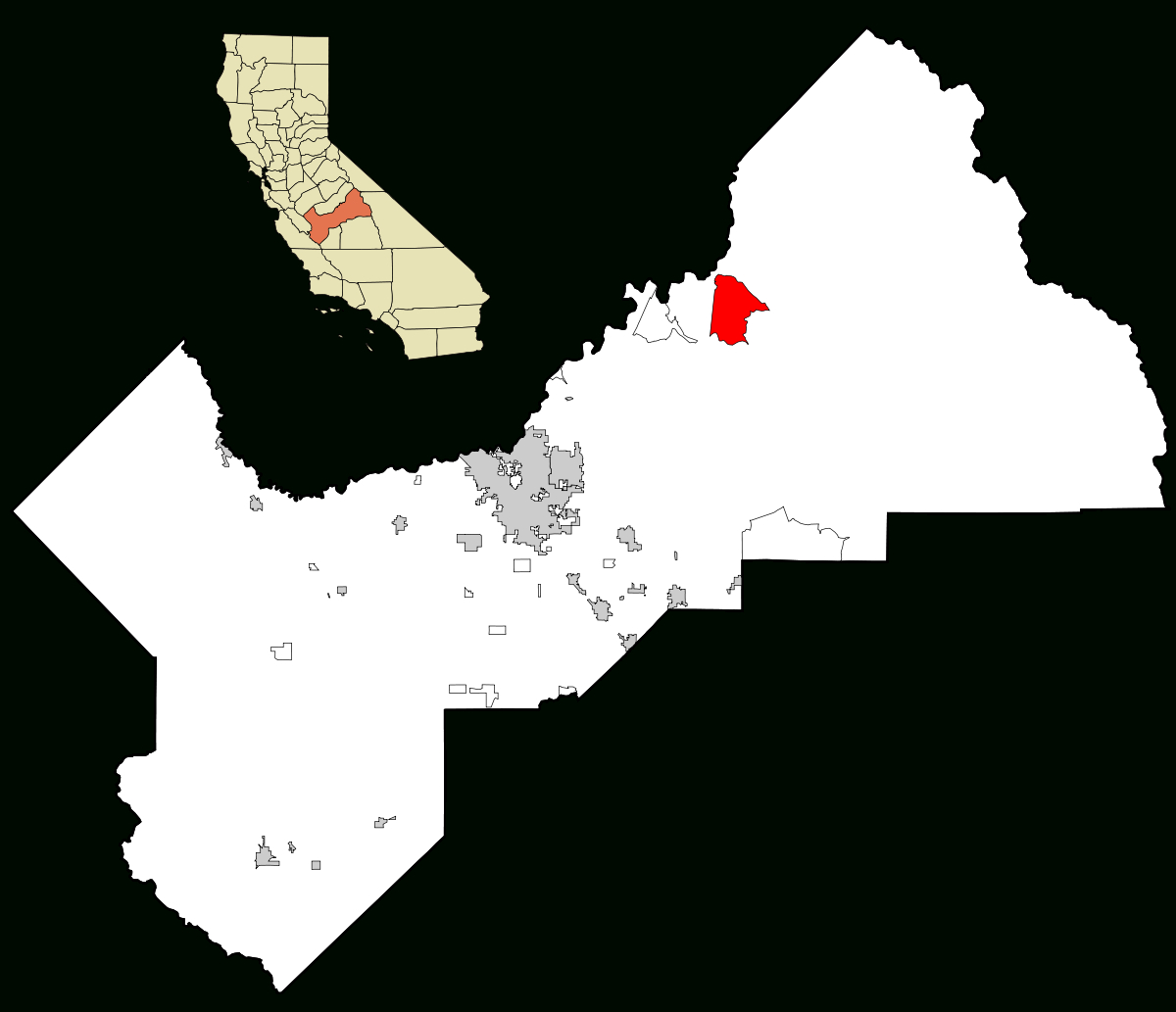 Shaver Lake, California - Wikipedia - Shaver Lake California Map