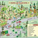 Shaver Lake Village Hotel Property Map   Shaver Lake Village Hotel   Shaver Lake California Map