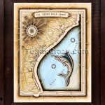 Shop Tx Gulf Coast Map Framed Texas Decor   Framed Texas Map
