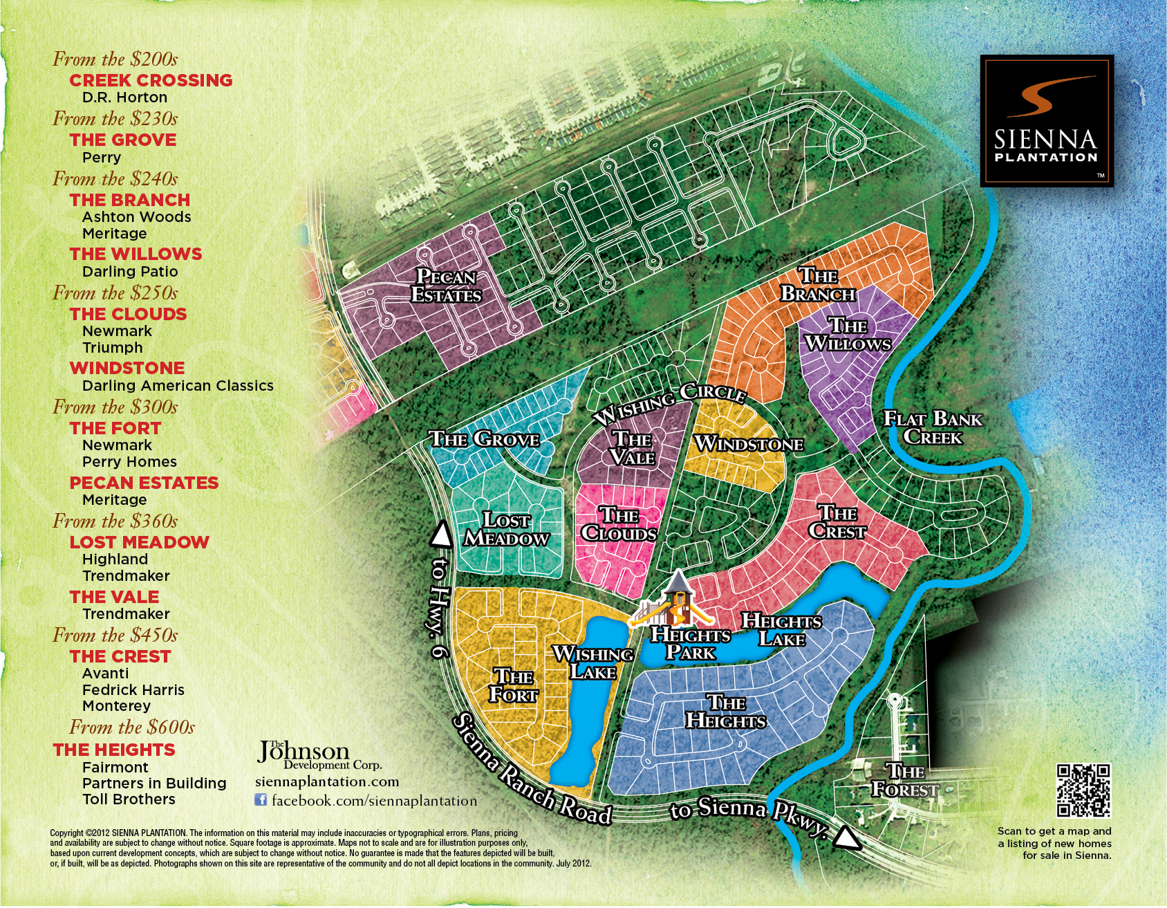 Sienna Plantation | Homes For Sale In A Missouri City Community - Sienna Texas Map