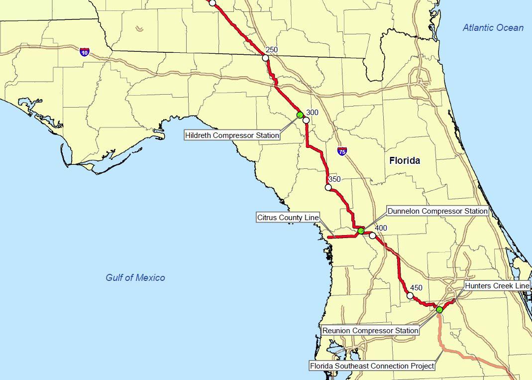 Sierra Club Florida News: Sabal Trail Pipeline Threatens North - Gas Availability Map Florida