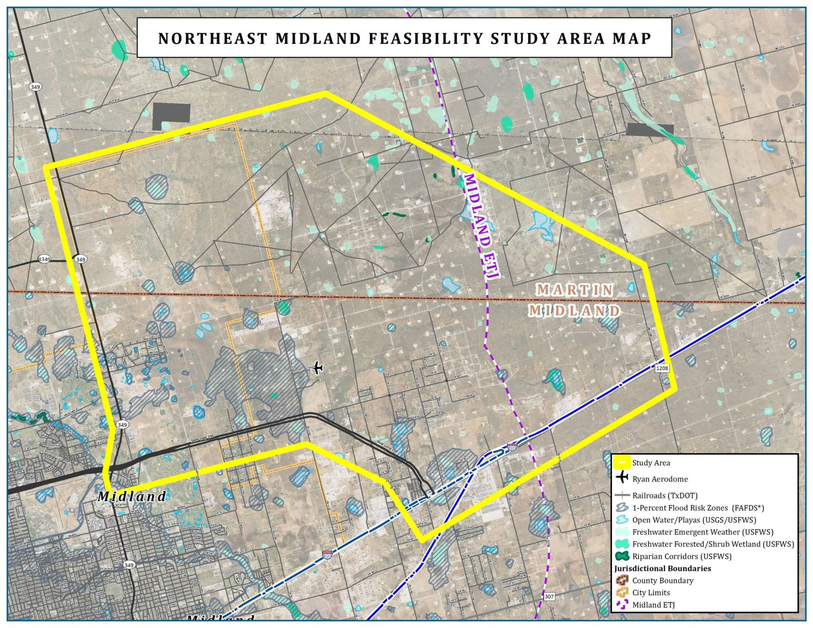 Sights Turn To Northeast Midland For Future Development - Midland - Map Of Midland Texas And Surrounding Areas