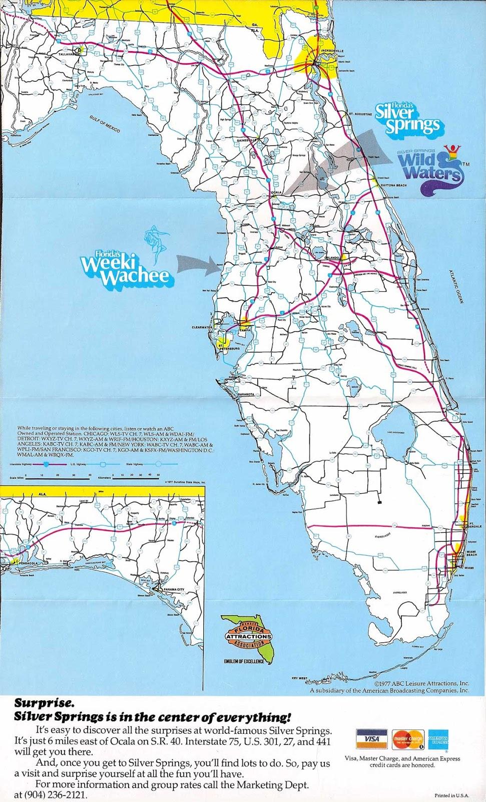 Silver Springs Florida Map - Silver Springs Florida Map