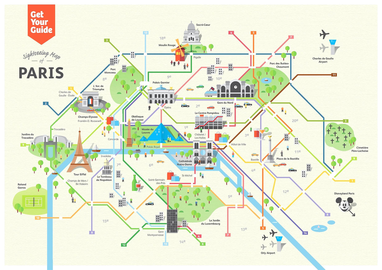 Simple Map Of Paris Paris Maps Top Tourist Attractions Free - Printable Map Of Paris Tourist Attractions