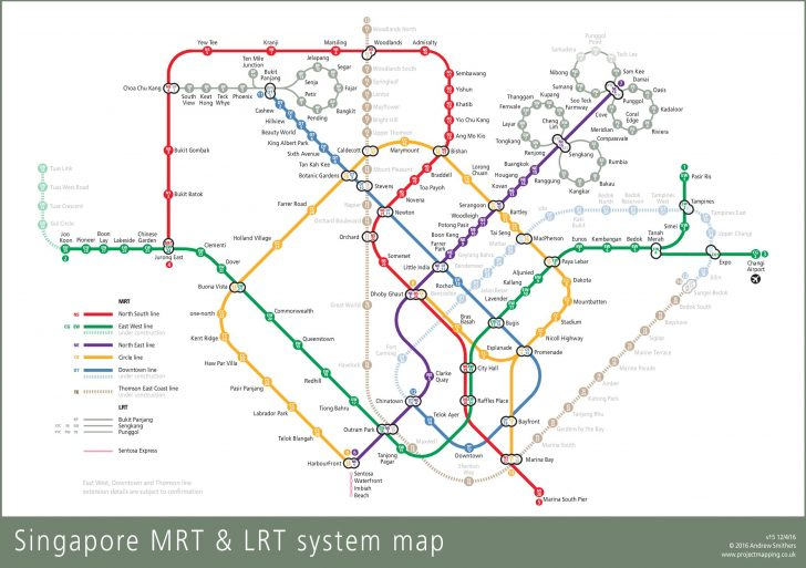 Singapore Mrt Map Printable