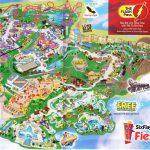 Six Flags Fiesta Texas Carte   Six Flags De San Antonio De La Carte   Fiesta Texas Map