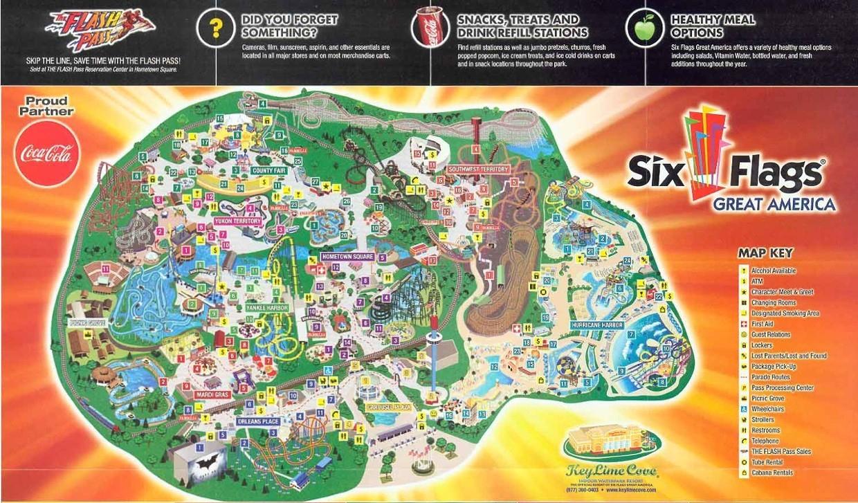 Six Flags Fiesta Texas Map Usa 7 | Globalsupportinitiative - Fiesta Texas Map