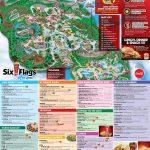 Six Flags Map Usa | Globalsupportinitiative – Six Flags Fiesta Texas Map 2018