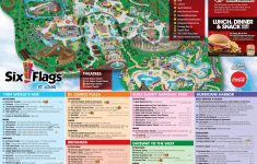 Six Flags Map Usa | Globalsupportinitiative – Six Flags Fiesta Texas Map 2018