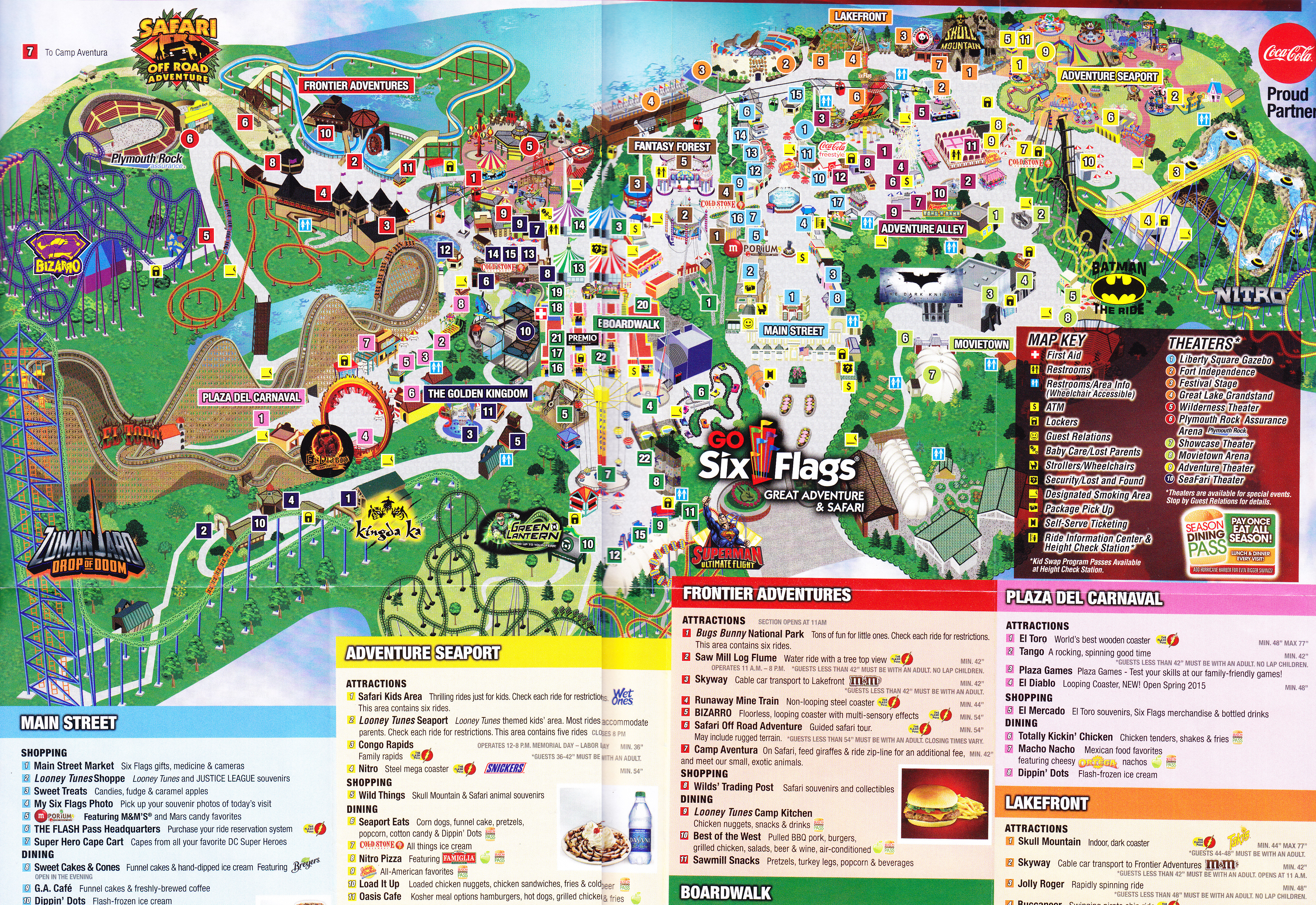 Six Flags Park Map 2018 - Best Picture Of Flag Imagesco - Six Flags Fiesta Texas Map 2018