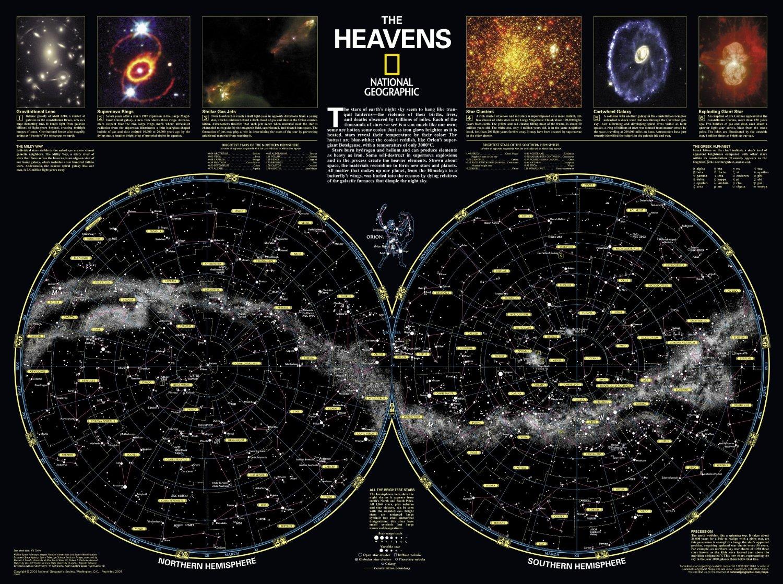 Skymaps - Publication Quality Sky Maps & Star Charts - Southern California Night Sky Map
