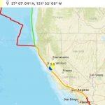 Small Quakes Continue. This Time San Martin   California Today On   San Martin California Map