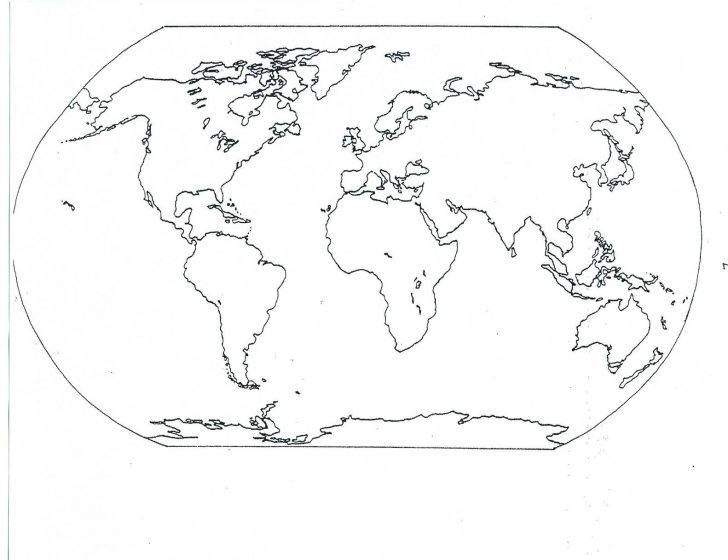 Small World Map Printable