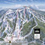 Snow Summit Trail Map | Onthesnow   Big Bear Mountain Map California