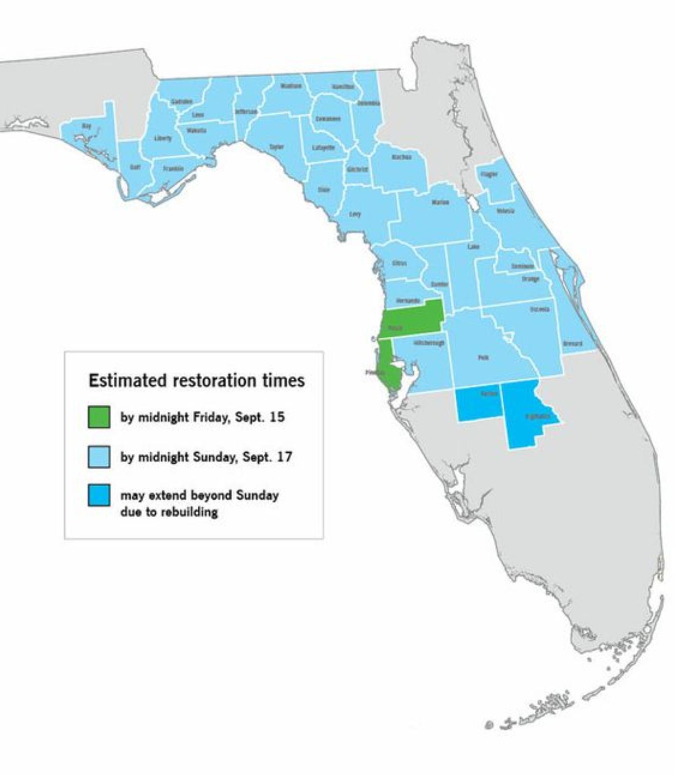 So I Just Got This From Duke Energy : Orlando - Duke Energy Transmission Lines Map Florida