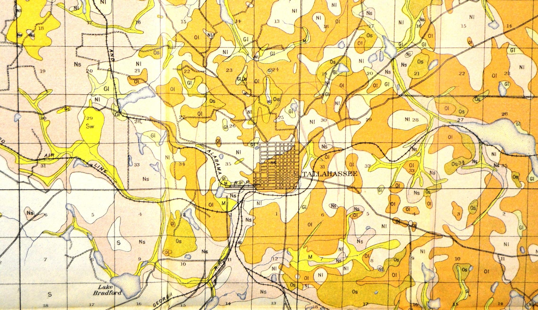 Soil Profile Maps | Florida Historical Society - Florida Soil Types Map