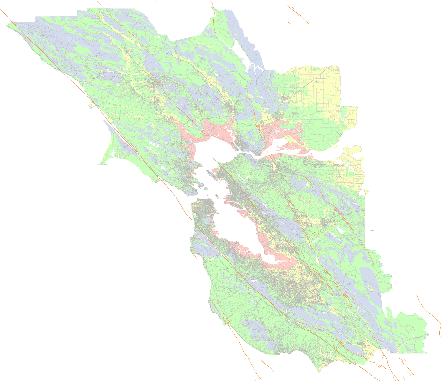 Soil Type And Shaking Hazard In The San Francisco Bay Area - California Soil Map