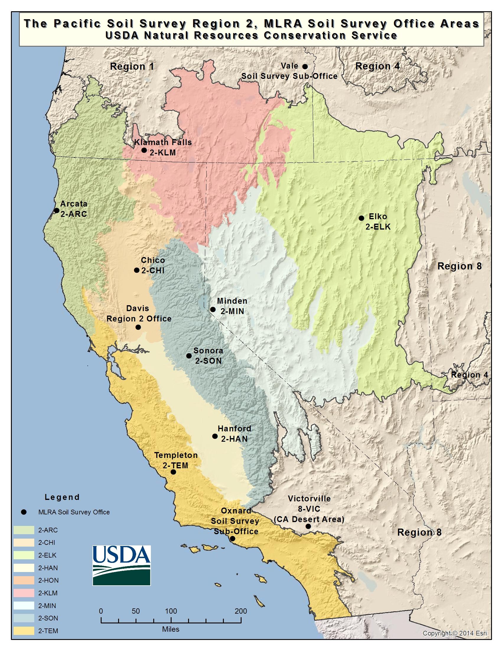 Soils   Nrcs California - Usda Map California