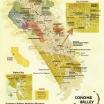 Sonoma Valley Wine Map   Best In Sonoma   California Wine Tours Map