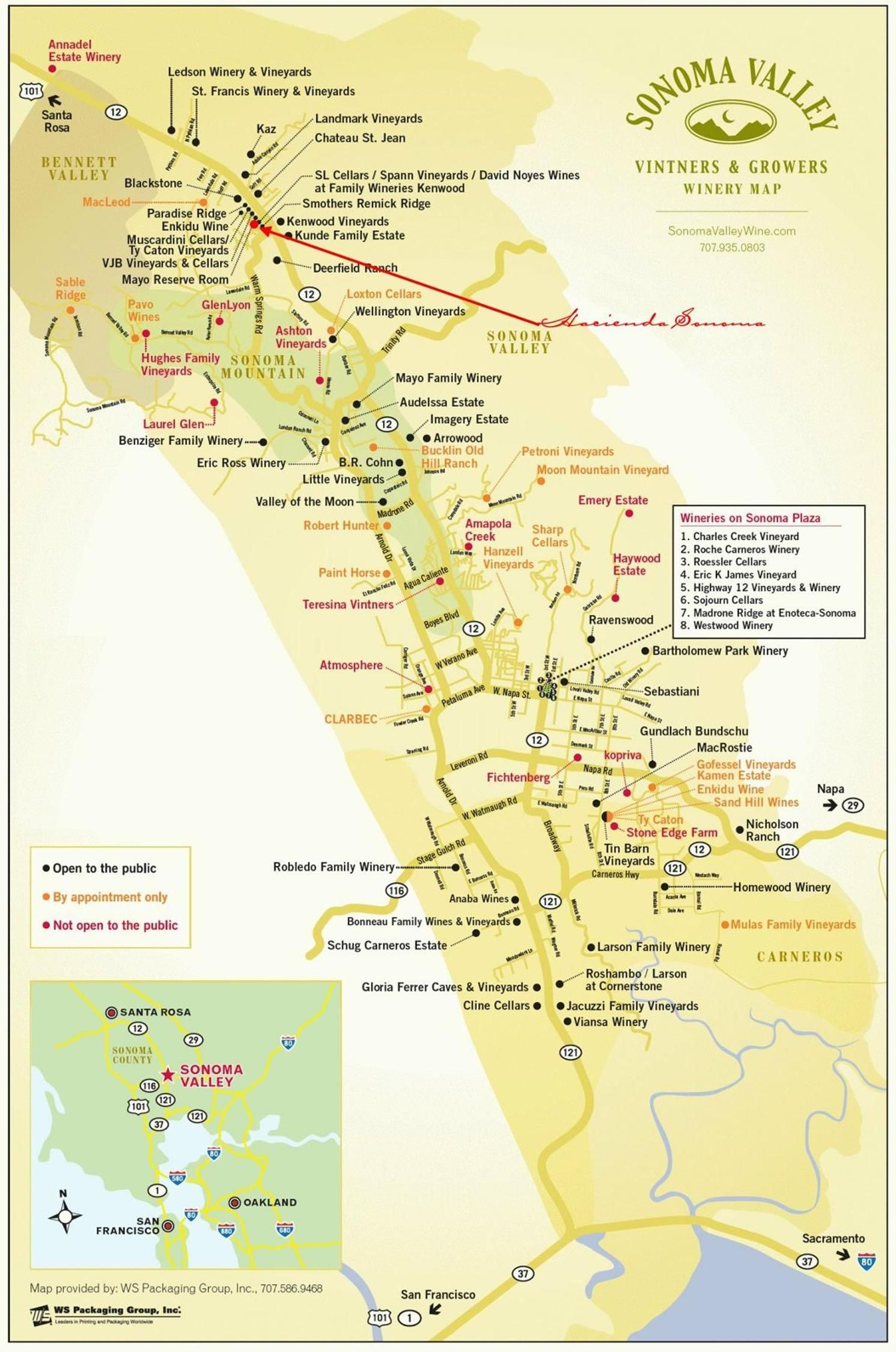 Sonoma Valley Wineries | N A P A | S O N O M A In 2019 | Pinterest - Map Of Wineries In Sonoma County California