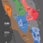 Sonoma Wine Map (Poster) | Wine Folly   California Wine Appellation Map