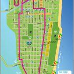 South Beach Tourist Map   Miami Beach Florida • Mappery   Map Of South Beach Miami Florida
