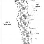 South Padre Island Street Map   South Padre Island Texas • Mappery   Padre Island Texas Map