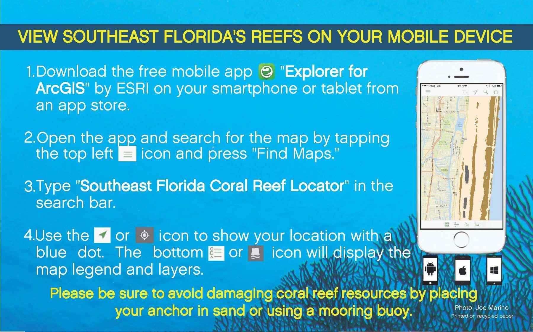 Southeast Florida Reefs Maps - South East Florida Reefs - Florida Reef Maps App
