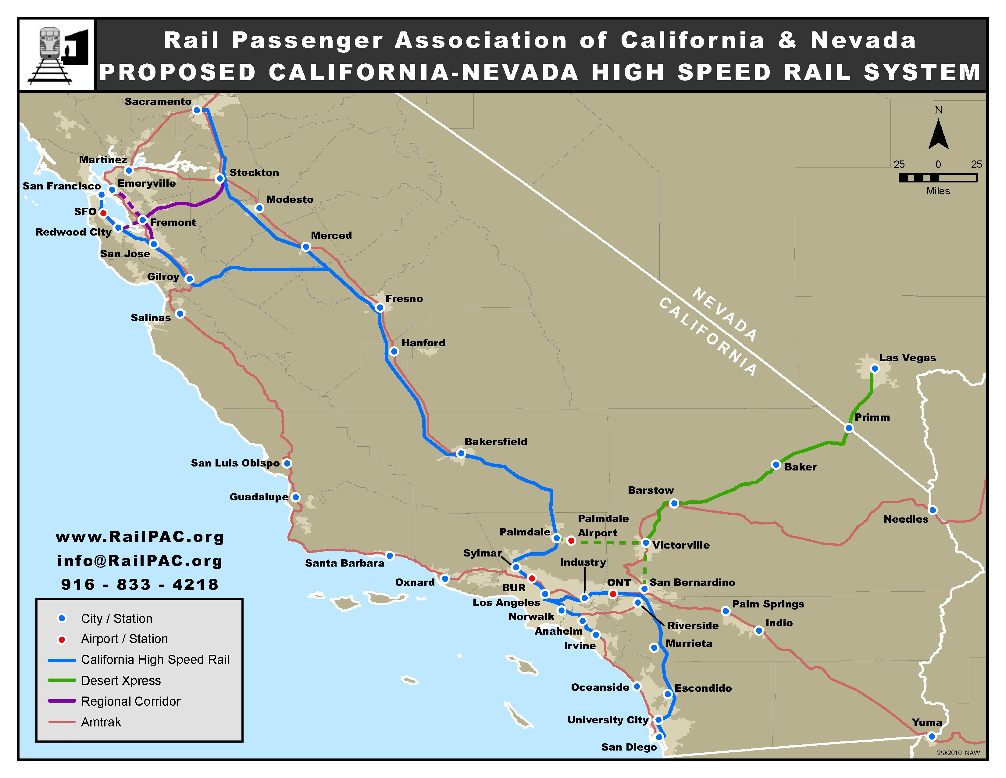 Southern California Amtrak Map Outline A Guide To Train Travel In - Amtrak California Coast Map