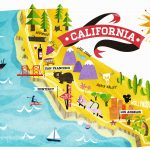 Southern California Attractions Map   Klipy   California Things To Do Map