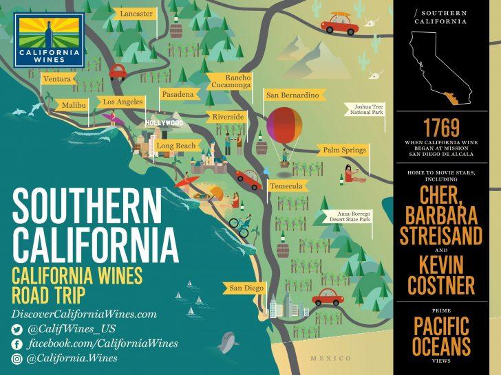 California Tourist Map
